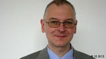 Ralf Bartels, del Sindicato de la Industria Minera y Química.
