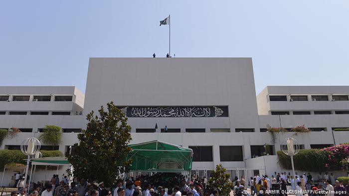 Pakistan Parlament in Islamabad
