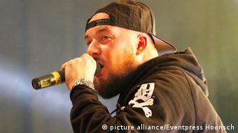 Kool Savas at a concert in Berlin