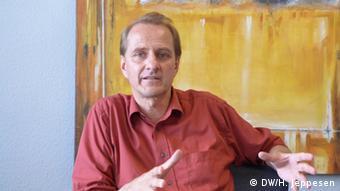 Dirk Messner Leiter des Deutschen Instituts für Entwicklungspolitik (Foto: DW)