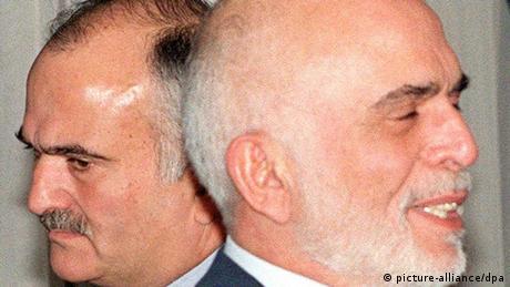 König Hussein und Prinz Hassan