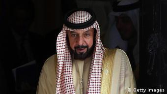 Präsident der Vereinigten Arabischen Emirate Scheich Chalifa bin Zayid Al Nahyan (Getty Images)