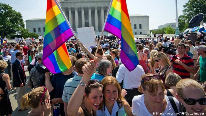 US Supreme Court Entscheidung Homo-Ehe (Mladen Antonov/AFP/Getty Images)