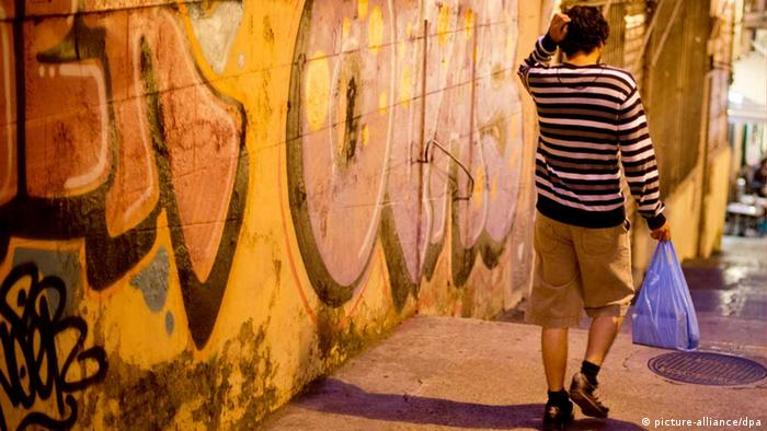 Youth unemployment and graffiti in Spain