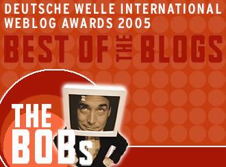 The BOBs: premio internacional de weblogs de DW-WORLD.
