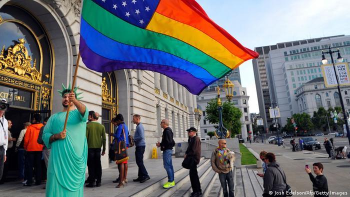 Supreme Court USA Jubel Homo-Ehe San Francisco