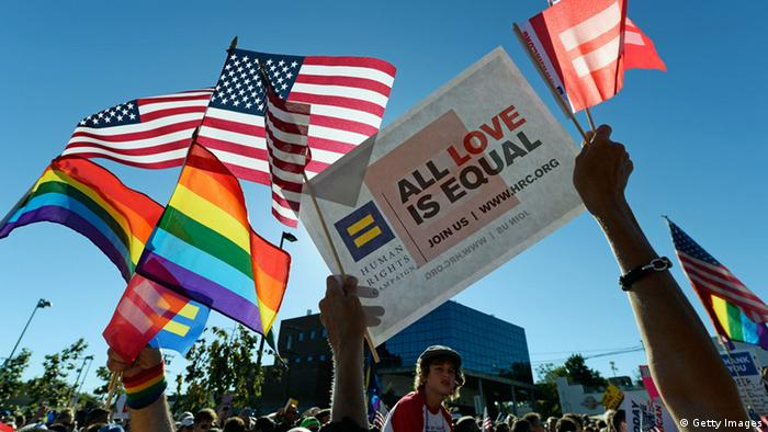 Supreme Court USA Jubel Homo-Ehe Hollywood (Getty Images)
