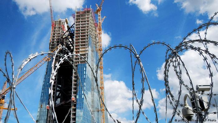 Gradilište koje iritira - novo sjedište Europske središnje banke