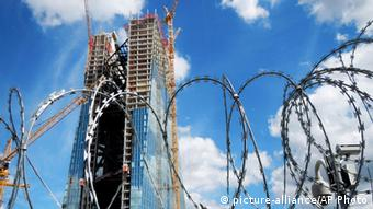 Symbolbild Bankenrettung EZB Baustelle Europäische Zentralbank