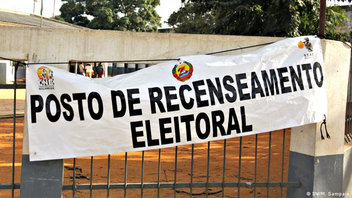 Mosambik - Wählerregistrierung in Nampula (DW/M. Sampaio)