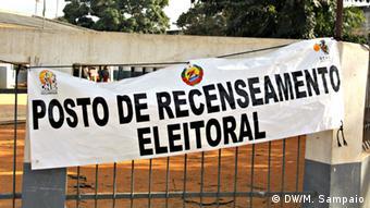 Mosambik - Wählerregistrierung in Nampula