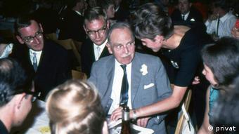 Walter Kölle aún recuerda su participación en el Congreso de los Premios Nobel de 1964.