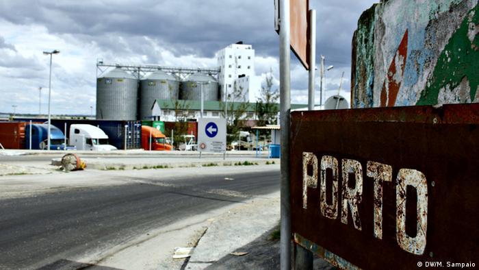 Porto de Nacala, no norte de Moçambique