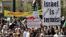 Demonstration gegen Israel in Teheran