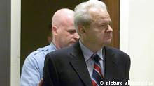 Milosevic Haager Tribunal Archiv 2001