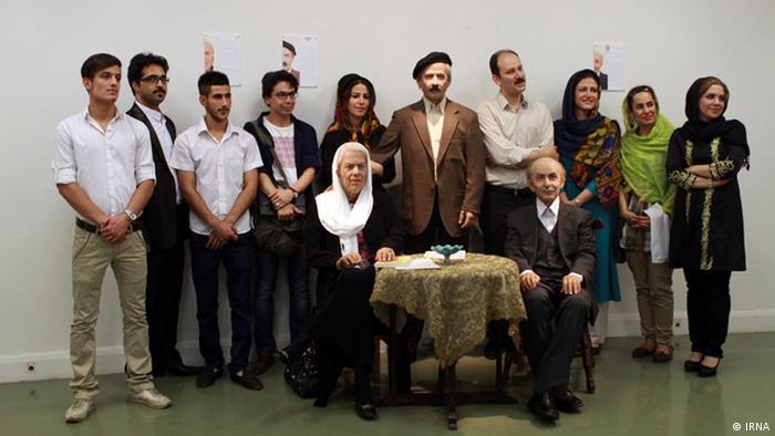 مجسمههای مومی از سیمین دانشور، جلال آلاحمد و نیما یوشیج (از چپ)