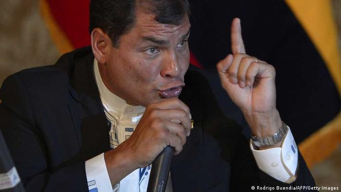 Rafael Correa (Rodrigo Buendia/AFP/Getty Images)