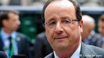 French President Francois Hollande arriving to the European Council meeting at the EU headquarters in Brussels on June 27, 2013. Copyright: GEORGES GOBET/AFP/Getty Images
