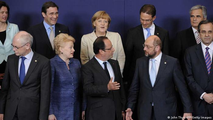Gipfel-Gruppenfoto Foto: John Thys/AFP/Getty Images