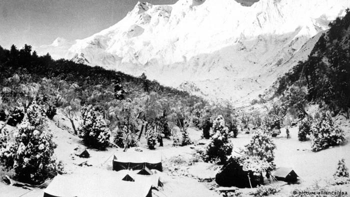Lager Nanga-Parbat-Expedition 1953