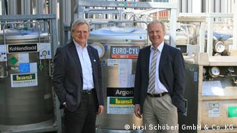Ingo Nawrath and Hans Schöberl Copyright: basi Schöberl GmbH & Co. KG