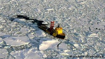 The ice breaker Vidar Viking Mar (Photo: dpa)