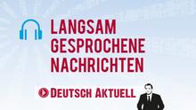 DW Sprachkurse Deutsch Aktuell Langsam gesprochene Nachrichten Infografik