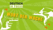 DW Sprachkurse Deutsch im Fokus Wort der Woche Infografik