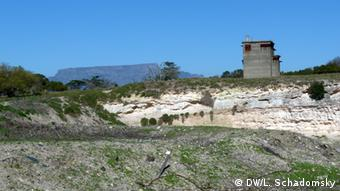 Limestone quarry at Robben Island prison off Cape Town