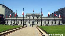 Chile Wahlen Regierungspalast Moneda