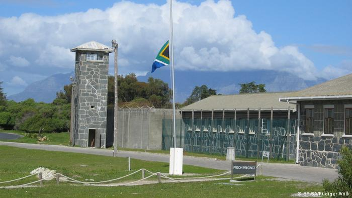 Robben Island prison. (Photo: Wikimedia Commons