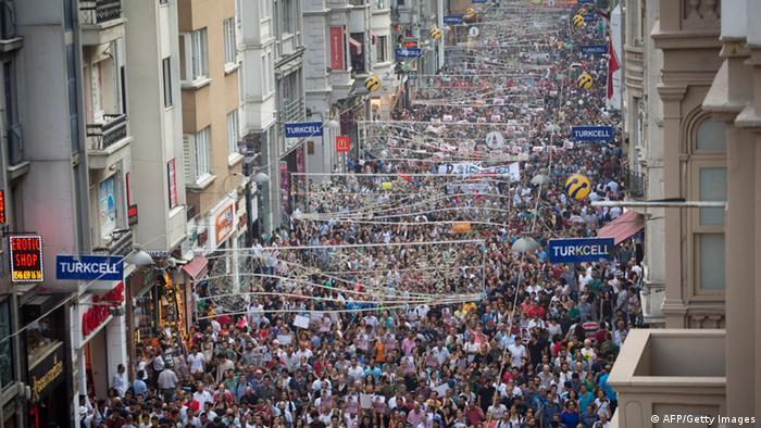 Proteste Türkei Ende Juni 2013