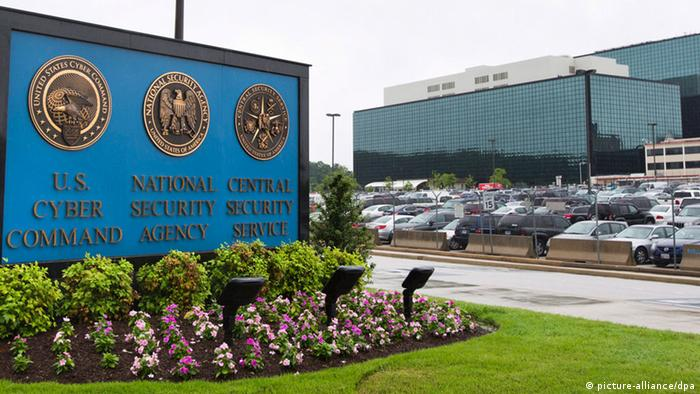 A general view of the headquarters of the National Security Agency in Fort Meade, Maryland. (Photo: Jim Lo Scalzo/EPA/dpa)