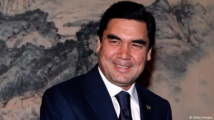 Turkmenistan Präsident Berdymuchammedow