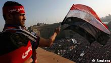 Protesters wave Egyptian flags as demonstrators opposing Egyptian President Mohamed Mursi shout slogans against him and Brotherhood members during a protest at Tahrir Square in Cairo June 30, 2013. Egyptians poured onto the streets on Sunday, swelling crowds that opposition leaders hope will number into the millions by evening and persuade Islamist President Mohamed Mursi to resign. REUTERS/Mohamed Abd El Ghany (EGYPT - Tags: POLITICS CIVIL UNREST)