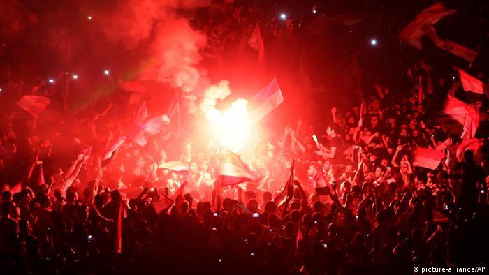 Die Proteste in Kairo am 30. Juni (Foto: AP)