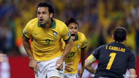 Confederations Cup / Brasilien - Spanien / 1:0 Fred
