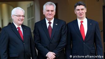 Josipović, Nikolić i Milanović u Zagrebu