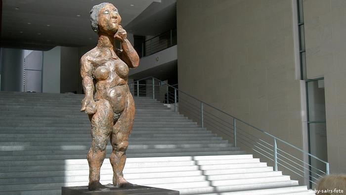 Одна из скульптур Маркуса Люперца