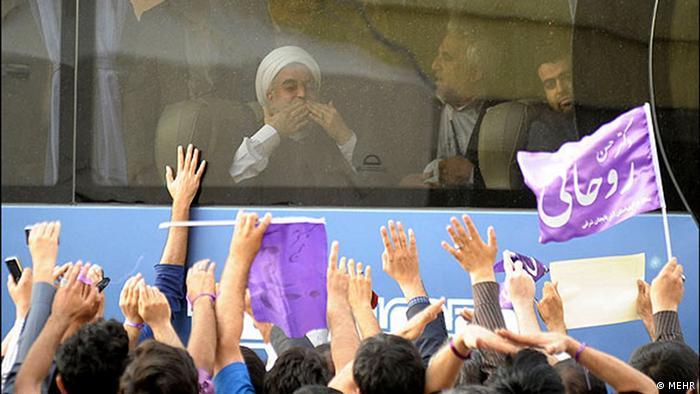 Rohani Irans neuer Präsident