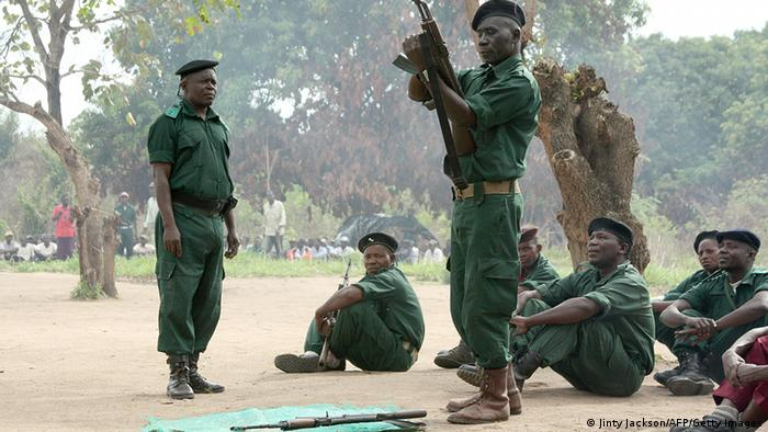 Mosambik Renamo Rebellen in den Bergen von Gorongosa (Jinty Jackson/AFP/Getty Images)