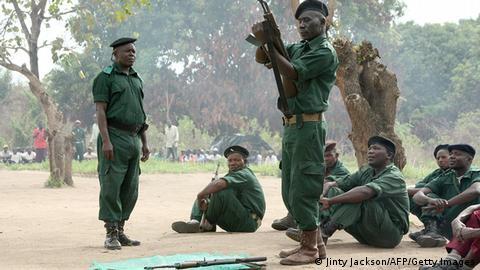 Mosambik Renamo Rebellen in den Bergen von Gorongosa (Jinty Jackson/AFP/Getty Images)