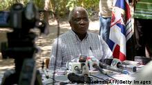Mosambik Renamo Rebellen in den Bergen von Gorongosa Afonso Dhlakama