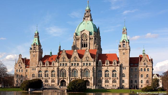 Deutschland neues Rathaus in Hannover (Fotolia/Thorsten Schier)