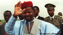 Mahamane Ousmane 1995 Präsident Niger