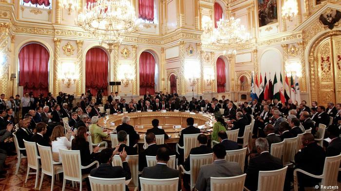 اجلاس پیشین سران کشورهای صادرکننده گاز در مسکو، ۲۰۱۳