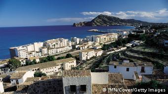 Пляж испанского города Аликанте