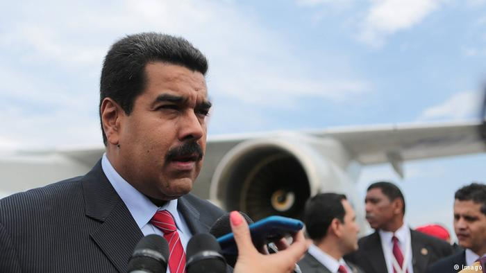 Venezuela Russland Präsident Nicolas Maduro in Moskau (Imago)