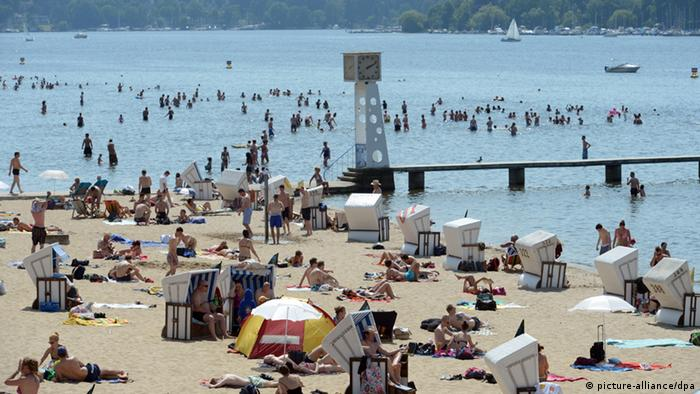 The Strandbad Wannsee in Berlin.