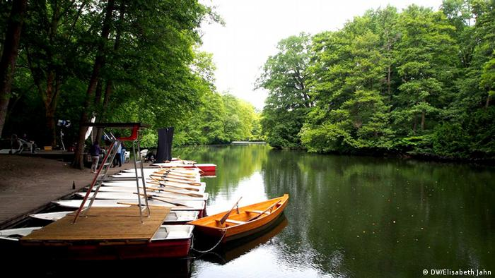 Lake in Berlin's Tiergarten